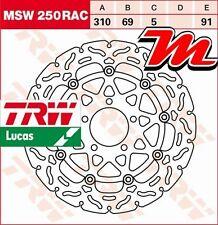 Disque de frein Avant TRW Lucas MSW 250 RAC pour Kawasaki KLV 1000 BS 2004-