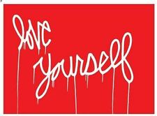 Moniker Love Yourself Poster Print In style of Kulig - #1/50
