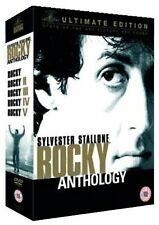 The Rocky Anthology Ultimate Edition 6 Disc Box Set  Sylvester Stallone 2005 DVD