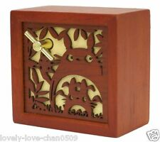 Studio Ghibli  My Neighbor Totoro Music Box Wood 7 x 7 x 5cm