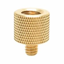 "1/4"" Male To 3/8"" Female Brass Screw Tripod Thread Adapter UK Seller"
