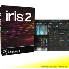 iZotope IRIS 2 sample re-synthesizer Software Synth Plug-in w/+8 NEW MAKE OFFER