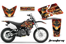 Yamaha Graphic Kit AMR Racing Bike Decal TTR 90 Decal MX Part 2000-2007 FIRESTRM