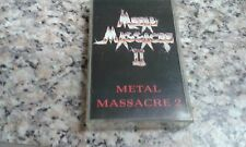 METAL MASSACRE II(2)  CASSETTE NO LP CD