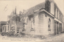 CPA GUERRE 14-18 WW1 REIMS 244 LL rue legendre