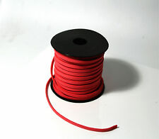 2m Suede Cord Leather Lace Jewellery Making Beading Flat Thread StringROPE red