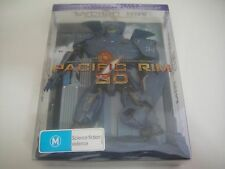 Pacific Rim 3D (2013) - Limited Edition Robot Pack 2-Disc Blu-Ray | Like-New