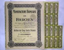 Action manufacture francaise de fourche  ( 223 )