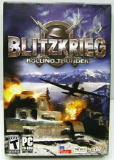 BLITZKRIEG ROLLING THUNDER/EXPANSION PC CD-ROM FACTORY SEALED SMALL RETAIL BOX