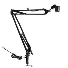 Studio Microphone Suspension Boom Arm Desktop Stand Holder For AT2020 MXL 770
