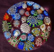 PERTHSHIRE JOHN DEACONS COMPLEX CLOSEPACK MILLEFIORI PAPERWEIGHT GORGEOUS