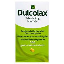 Dulcolax Bisacodyl Tablets 5mg (100 pack)