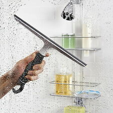 Wiper Squeegee Blade Window Cleaner Shower Silicone Drying Clean Wash Glass Car