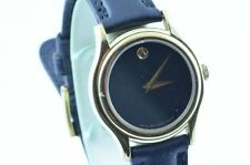 MOVADO DAMEN UHR 25MM STAHL VERGOLDET MUSEUM WATCH RAR 3