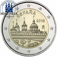 España 2 euros conmemorativa 2013 BFR. castillo-y Klosteranlage el Escorial