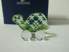 SWAROVSKI SILVER CRYSTAL THEO THE TORTOISE RETIRED 2006 NEW MIB