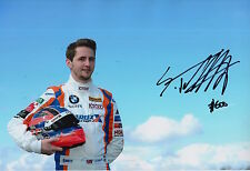 Sam Tordoff Hand Signed 12x8 Photo BMW Touring Cars 2.