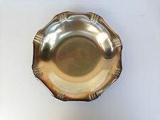 ancienne coupe corbeille metal argenté poinçonné art deco