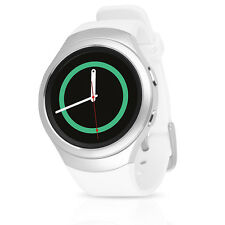 Samsung Gear S2 SM-R730T Smartwatch (T-Mobile) w/ Rubber Band (L) - Silver/