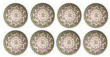 8 Purple Dahlia Flower Wooden Dresser Baby Bedding Cordinate Drawer Knobs Pulls
