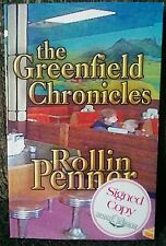 The Greenfield Chronicles The View From CBC Radio Rollin Penner Signed 2002 Rare