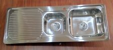 KITCHEN SINK 1 AND 3/4 BOWL  1225m*470mm