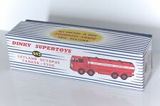 DINKY Reproduction Box 943 Leyland Octopus Tanker 'Esso'