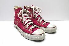 Converse Chuck Taylor All Star High Top Pink Floral Sneakers Size 7