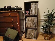FREE SHIP Vinyl Record Storage and LP Album Cube, Espresso by Way Basics