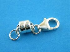 925 Sterling Silver Strong Magnetic Clasp Converter Necklace or Bracelets