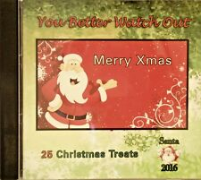 YOU BETTER WATCH OUT - 25 VA XMAS TUNES