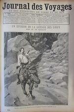 JOURNAL DES VOYAGES N° 822 de 1893 GUERRE DES SIOUX / AFRIQUE POIDS STATUETTES