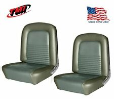 1967 Mustang Front & Rear Seat Upholstery- Ivy Gold by TMI - IN STOCK!!