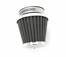 Chrome Performance Air Pod Filter - 52mm - Honda Kawasaki Suzuki Yamaha
