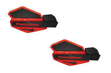 PowerMadd Star Series Replacement ATV Handguards Hand Guards Red Black 34202