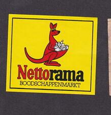 Ancienne étiquette Allumettes de paquet Hollande  BN12389 Kangourou
