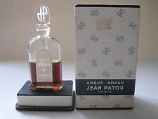 Vintage Amour Amour Jean Patou Perfume Rare Bottle with Box