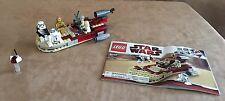 8092 Lego Luke's Landspeeder Star Wars complete instructions minifigure