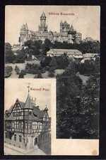 80198 AK Schloss Braunfels Kaiserliche Post 1909