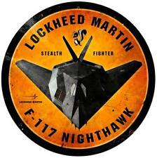 Lockheed F-117 Nighthawk Military Aircraft Metal Sign Man Cave Garage LM019