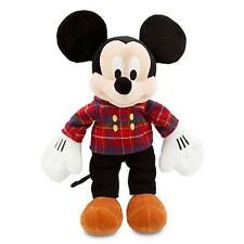 "MICKEY MOUSE HOLIDAY PLUSH 17"" EMBROIDERED ""DISNEY STORE 2013"" LOGO ON FOOT"