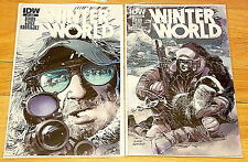 Winter World #1 Regular and Sub Covers, IDW 2014, 1st Prints