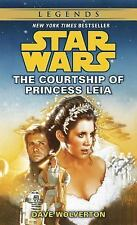 Star Wars Courtship of Princess Leia by Dave Wolverton PB 1995 1st Print Bantam