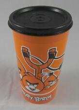 Tupperware Trinkbecher mit Deckel Angry Birds 330 ml Orange / Schwarz Neu OVP