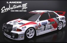 ABC Hobby 1:10 MITSUBISHI LANCER EVOLUTION III Rally Body NEW Tamiya HPI Xv01 Xv