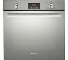 Hotpoint SBS636XS GP641X Builtin Multi-Function Electric Oven & 4 Gas Burner Hob