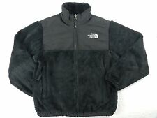 GIRLS black fleece JACKET coat = THE NORTH FACE = SIZE Medium = #P50