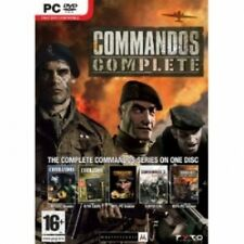 Commandos complete collection jeu pc neuf