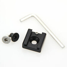 """Camvate hot cold shoe adapter 1/4"""" thread mount for DSLR Rig camera video cage"""