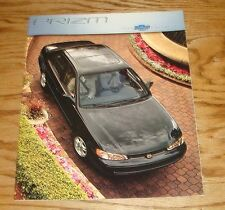 Original 2000 Chevrolet Prizm Sales Brochure 00 Chevy